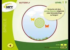 Coordination and balance training app - MFT Challenge Disc App, Challenges, Butterfly, Chart, Apps, Butterflies