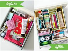 DYE cajas para organizar tus objetos