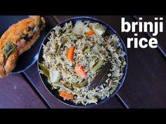 brinji rice recipe, vegetable brinji, veg brinji, brinji sadam with step by step photo/video. traditional rice based recipe from the popular tamil cuisine. Recipe Videos, Food Videos, Rice Recipes, Vegetable Recipes, Base Foods, One Pot Meals, Lunches And Dinners, Coconut Milk, Spicy