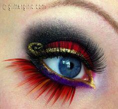 Jafar makeup look