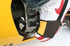 Leather Motorcycle Shoe Gard