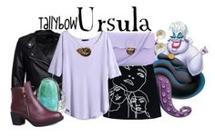 """Ursula"" by tallybow ❤ liked on Polyvore featuring Sisters Point, STELLA McCARTNEY, H&M, Carolee, Bling Jewelry and Disney"