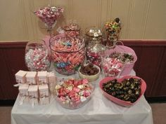 Candy Bar for Baby Shower (girl)