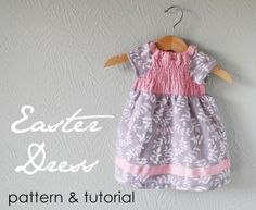 Sewing Free Baby Patterns | Dresses to Sew: Easter Baby Dress Free Sewing Pattern