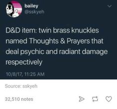 Image result for twin brass knuckles thoughts and prayers