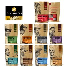Level Ground Trading Coffee Packaging