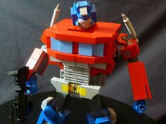 Optimus Prime - 2014 G1 Reboot: A LEGO® creation by Chris Roach : MOCpages.com