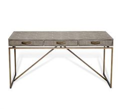 Atherton Shagreen Desk design by Interlude Home