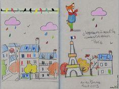 Paris en Automne — Le Lapin dans la Lune