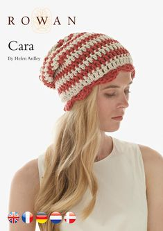 Cara Hat in Rowan All Seasons Chunky. Discover more Patterns by Rowan at LoveCrochet. We stock patterns, yarn, hooks, books from all of your favourite brands.