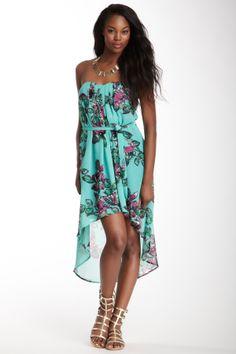Lavender Brown Bustier Dress on HauteLook