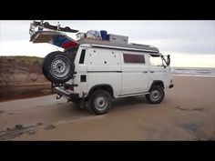 Bid for the chance to own a Modified 1990 Volkswagen Vanagon Syncro Camper at auction with Bring a Trailer, the home of the best vintage and classic cars online. Vw T3 Camper, Vw Bus T3, Camper Van, Volkswagen, Vw Syncro, Camper Conversion, Classic Cars Online, Auction, Future