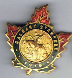 Has also been seen on the top of a collector spoon from the 1919 Stampede. This the second Stampede held in Calgary. Cowboy And Cowgirl, Western Style, Calgary, Spoon, Two By Two, Retro, Top, Stuff To Buy, Spinning Top