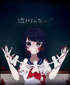 Ayano dans une salle de classe.