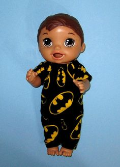 Your place to buy and sell all things handmade Baby Alive Doll Clothes, Boy Doll Clothes, Baby Alive Dolls, All The Way Down, Rocking Chair, Pajama Set, Disney Princess, Disney Characters, Boys