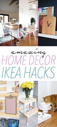 Ok my friends… we have a fabulous collection of IKEA Hacks for you today…some are in German so you will have to use this little translator for those…just pop in the blog post URL into the blank spot and it will translate it for you…it's awesome and allows us to take advantage of other IKEA …