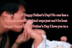 Happy Fathers Day Messages 2017 from Son Happy Fathers Day Message, Happy Fathers Day Images, Fathers Day Messages, Wish Quotes, Dad Day, Love You, My Love, Good Good Father, Dad Jokes