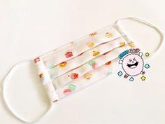 子ども用 プリーツマスクの作り方★ | ☆Chaho's Diary☆ Personalized Items, Sewing, Handmade, Crafts, Face Masks, Stitching, Ideas, Craft, Mascaras