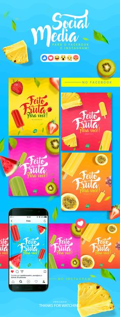 Rede social Frutos de Goiás 04 on Behance