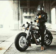 Xs650 cafe racer brat style
