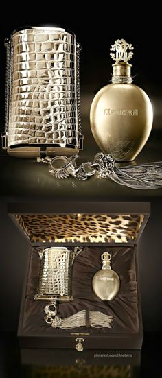 The Roberto Cavalli Gold Edition is so exclusive that only 3 pieces of the exquisite elixir will be available for sale §