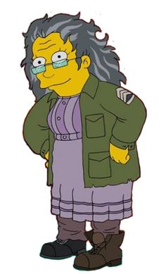Hettie Mae Boggs Simpsons Characters, Fictional Characters, Tv Funny, Dysfunctional Family, The Simpsons, Cartoons, Board, Cartoon, Cartoon Movies