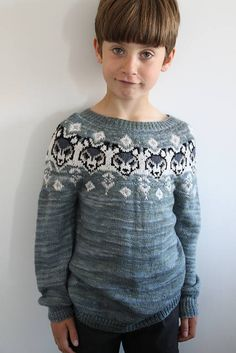Ravelry: Wolf in sheep clothing sweater pattern by Yvonne B. Knitting For Kids, Baby Knitting, Diy Knitting Projects, Fair Isle Pattern, Sweater Outfits, Knitting Patterns, Knitting Ideas, Cute Boys, Sheep