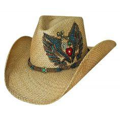 Bullhide Cowboy Hat Take It Easy Genuine Panama Straw Cowboy Hat Cowgirl  Hats cb106ba6d53a