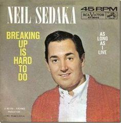 Neil Sedaka - Breaking Up Is Hard to Do piano sheet music. More free piano sheets at www.pianohelp.net