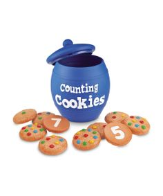 Take a look at this Smart Snacks Counting Cookies Set on zulily today!