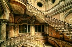 Obviously many levels in this building, but I like the similar staircases. Closer by Pati Makowska on 500px