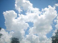 아름다운 하늘위 구름