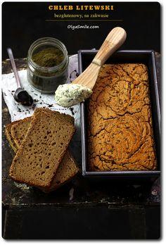 Lithuanian bread | Recipe in Polish. Chleb litewski bezglutenowy na zakwasie Olgi Smile