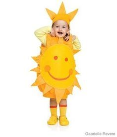 DIY Here Comes the Sun Costume - Parenting.com for Kiara. Since wishcraft decided to discountinue theirs in her size, today. In September!