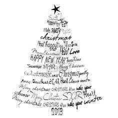 Tarjeta de Navidad 2012, 2013 Resumen árbol de Navidad Foto de archivo