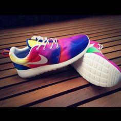 Mens and Womens custom Nike roshe design, unisex design, teal and pink pastel, cute trendy design, Customized nike roshe run, s