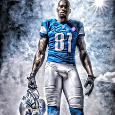 Calvin Johnson - Detroit Lions Megatron Go Lions! Detroit Lions Football, Detroit Sports, Detroit Tigers, Nfl Football, Football Players, Slam Dunk, Calvin Johnson, American Athletes, Basketball