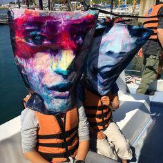 Going to catch a #bigfish #timburton #traveldentity #jeju #boattrip #sailing #fishing #journey #traveling #baghead #adventure #art #streetart #fineart #face #tatjanalee #portraitart #portraitartist #acrylicpainting #artoftheday #visualart #contemporaryart #visualartist #portraitpainting #paintingoftheday #painting #worldtraveling #Seoul #Southkorea2016 http://ift.tt/2cVo2H5