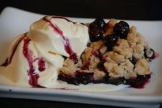 Blueberry Crumble - 8x8 pan Sweet Ali's Gluten Free Bakery - Hinsdale, IL. www.sweetalis.com