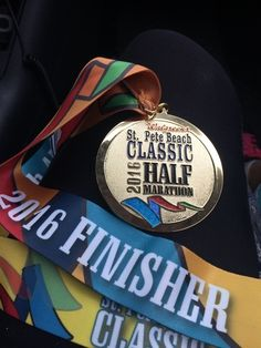 Looking for a warm place to run in winter? How about Florida? Read a review of the 2016 St Pete Beach Classic Weekend. Half marathon. #SPB #ThisOldRunner #Half #HiddenGem More at www.ThisOldRunner.com