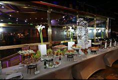 Everyone cruise food is yummy, now imagine what their wedding buffet options are like! Cruise Ship Wedding, Destination Wedding, Carnival Wedding, Buffet, Table Settings, Weddings, Food, Wedding, Essen