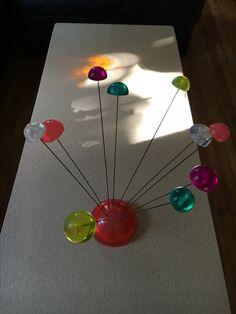 my lucite gumdrop sculpture