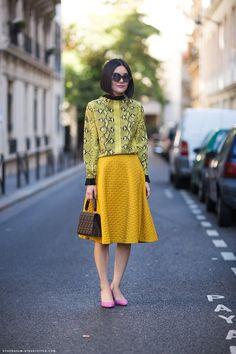5 Edgy Ways to Wear Feminine Skirts