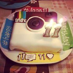 Instagram cake
