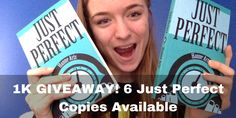 New post + #GIVEAWAY of 6 JUST PERFECT copies! ;) http://hanne-arts.blogspot.co.uk/2016/11/what-i-eat-in-day-uni-edition.html #1KGIVEAWAY #bookgiveaway #anorexiarecovery