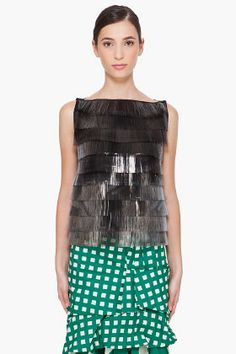 Marc Jacobs Layered Jamie Brush Blouse for Women | SSENSE