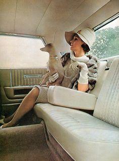 1964 Lincoln Continental Sedan Interior