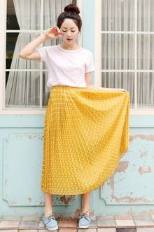 Love the skirt♥ hARU style - New modern vitage www.itsmestyle.com