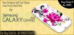 New Designer Soft Tpu Silicon Case Cover Back Skin For Samsung Galaxy Grand i9082