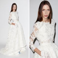 Crop-Top Wedding Dresses Are Officially a Thing, and I'm Surprisingly OK With That